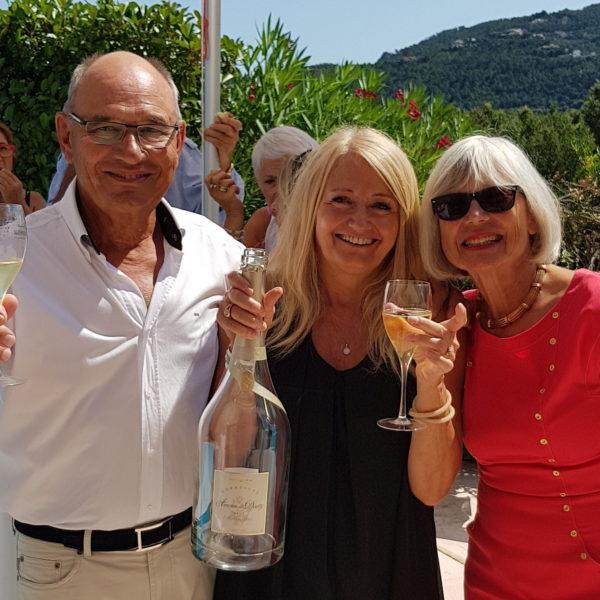 Fête Privée aux Adrets Producteurs de Champagne 2018